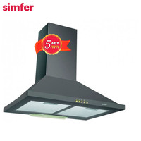 Range Hoods Simfer 8560SM home appliances major appliances built in wall hood for home
