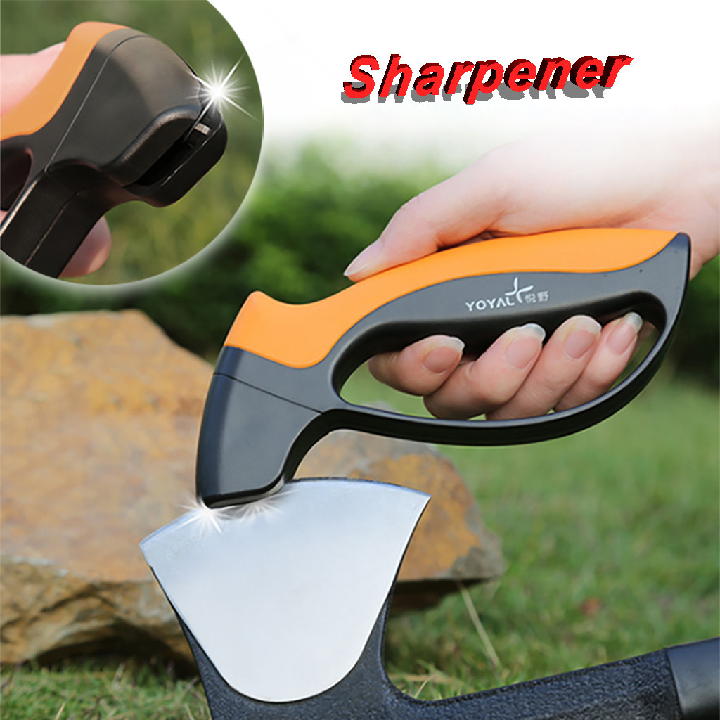 Multifunction Deluxe Quick Edge Sharpener For Camping , Outdoors And Kitchen Shovel Axe Can Grind Fast Knife Sharpene