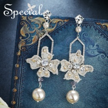Special European and American 925 silver needle earrings ear nails female clip silent light year