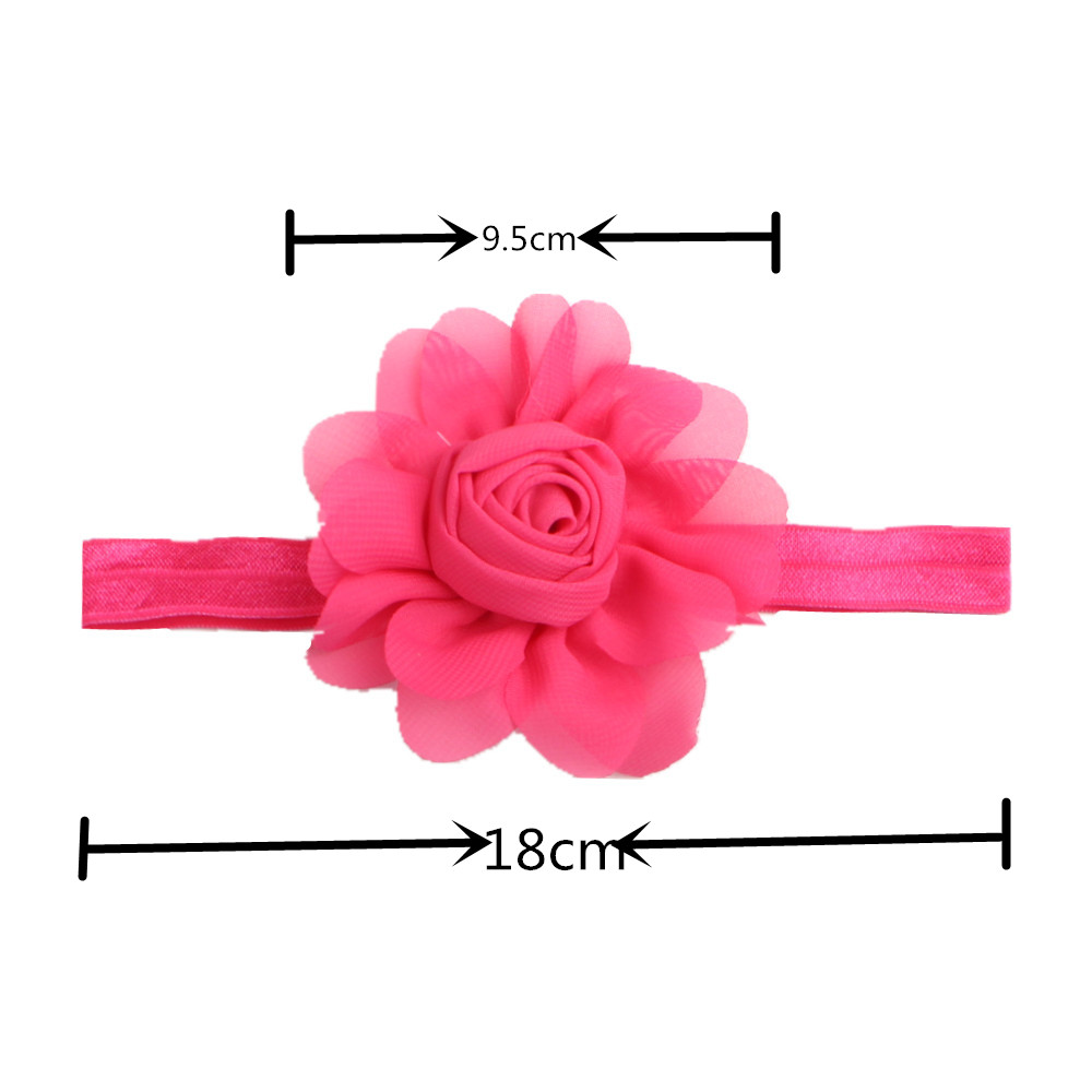 10 Colors Baby Girl Headbands Flower Baby & Kids