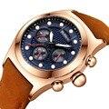 Мужские s часы лучший бренд класса люкс водонепроницаемые 12 кварцевые наручные часы мужские модные кожаные спортивные наручные часы Мужски...