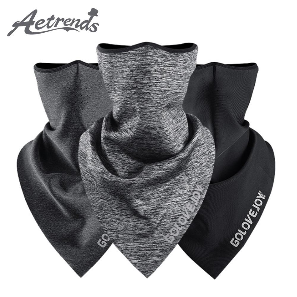 [AETRENDS] Thicken Polar Fleece Neck Warmer Ski Mask Bandana Headband Scarves Windproof Headwear Balaclava Magic Scarf Z-10083