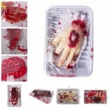 Broken Finger Hand Foot Blood Horror Halloween Decoration Severed Bloody Limbs Hand Novelty Dead Broken Gadgets broken