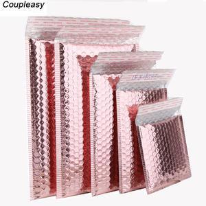 Envelopes-Bags Rose-Gold Bubble Plastic 50pcs/Lot Waterproof