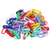 50Pc Small Plastic Snap Hooks Keychains Bags Straps Fastener Pet Collar Decorative Buckles DIY Backpack Luggage Belts Connectors