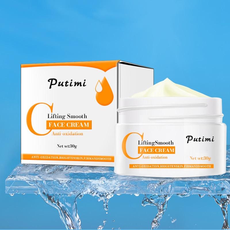 PUTIMI Anti Wrinkle Face Cream Anti-Oxidation Brighten Moisturizer Nourishing Lifting Firming Repair Skin Care Whitening Cream 6