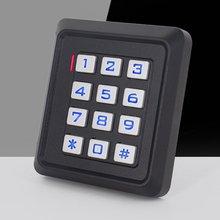Access-Control Code-Card Luminous-Keyboard Non-Waterproof K30