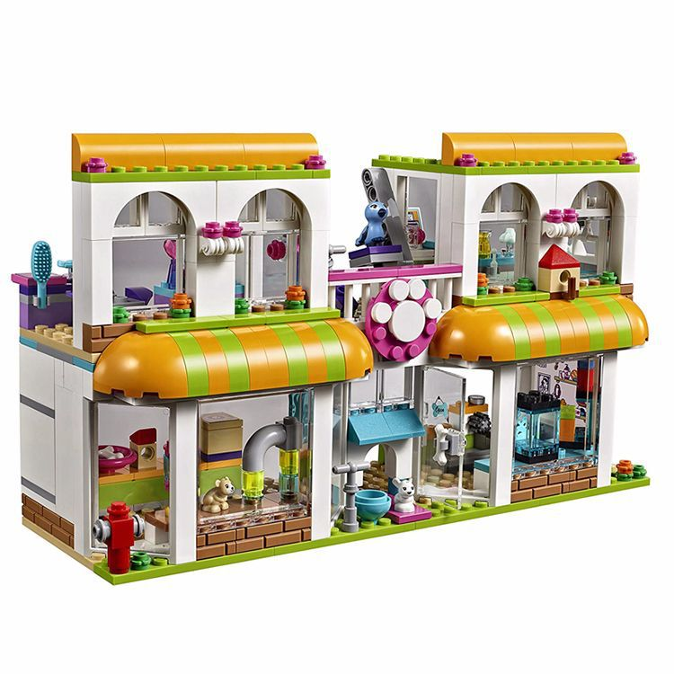 Friends The Heartlake City Pet Center Compatible Legoinglys 41345 Friends Pet Shop Friends Creative Building Blocks Toys