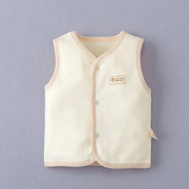 Unisex Warm Turtleneck Vest Toddler Infant Outwear 3