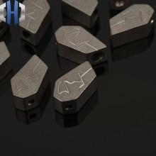 TC4 Titanium Alloy Pendant DIY Creative Material Accessories Knife Beads