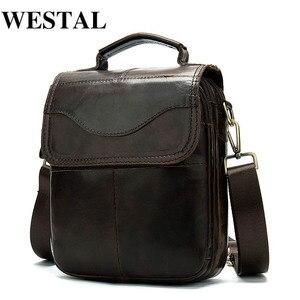WESTAL Men's Genuine Leather B