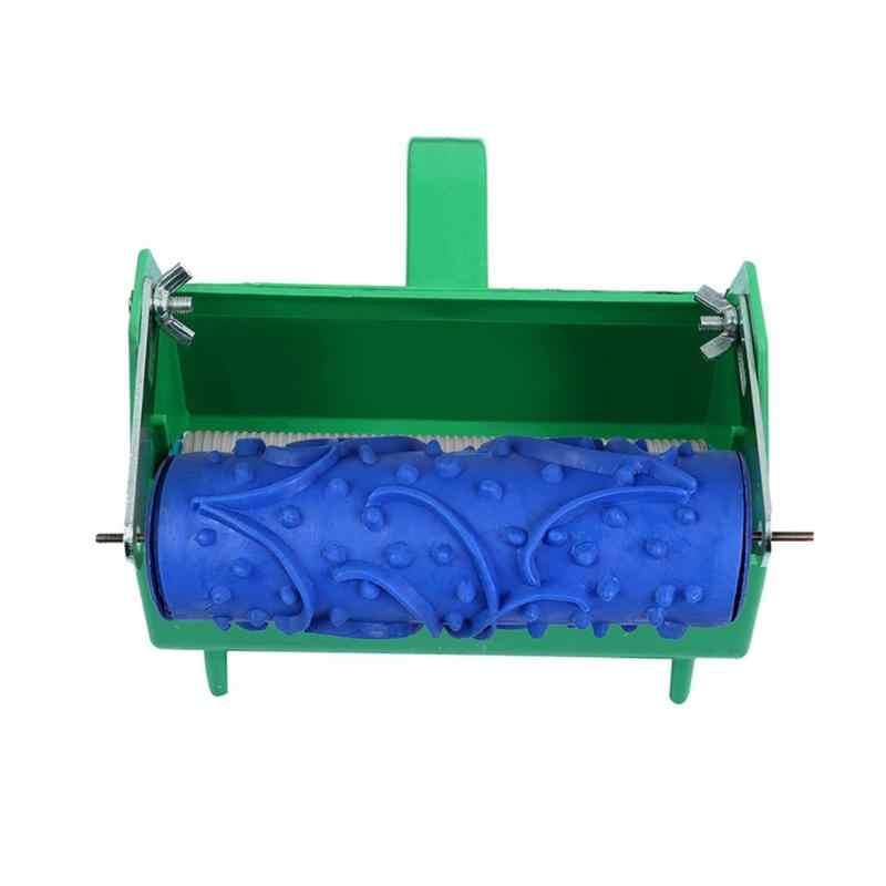 FAI DA TE 3D Gomma Pittura Murale Decorativo Rullo Modello A Parete Design Roller Muro di Corrente Domestica Texture Stencil Pennello Del Modello di Fiore