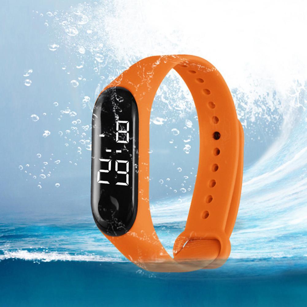 Led Digital Student Sport Watch Pink Silicone Women Watches Boy Brand Men Military Wristwatch Children Clock Reloj Mujer New