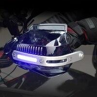 Motorcycle Handguard Protector Hand Guard with Light For ducati cbr 650f goldwing 1800 varadero 1000 cb1000r cbr 125r