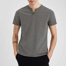 Tees Defacto-Spring Tops Man Slim-Fit Aesthetics Knitted Basic New-N6974az21sp Body Fashion
