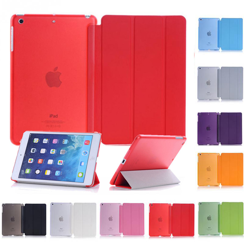 Case For IPad 2 3 4 PU Leather Silicone 9.7'' Shockproof Thin Cover For IPad 2 A1395 A1430 A1458 Coque For Apple IPad 4 3 2 Kids