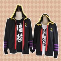 Anime Assassination Classroom Cosplay Hoodies Koro Sensei Hoodie Hoody Hip Hop Casual Coat Sweatshirts Ansatsu Kyoushitsu Hooded
