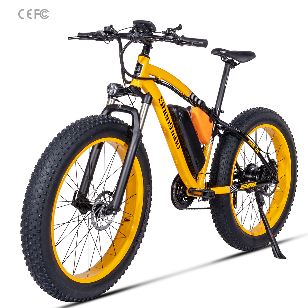 BAFANG 500W beach electric bicycle assisted 48V17AH sand car 26 inch