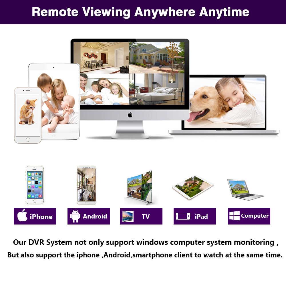 4MP 5MP CCTV DVR Hi3531 XMeye 16CH 16 kanal 6 in 1 koaksiyel hibrid XVI NVR CVI TVI AHD DVR USB WIFI gözetim Video kaydedici
