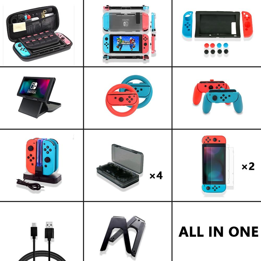 Játék kiegészítők szett a Nintendo Switch - Játékok és tartozékok - Fénykép 2