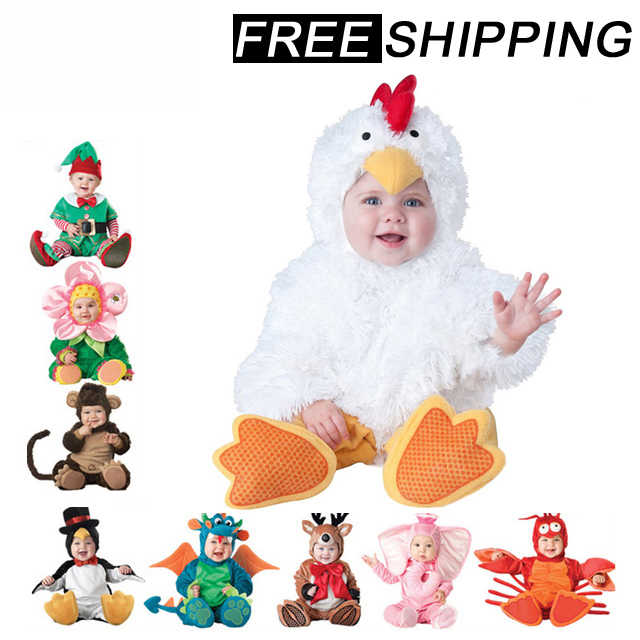 2019 осенние детские ползунки с героями мультфильмов на Хэллоуин Детские Рождественские Комбинезоны для косплея, Одежда для младенцев