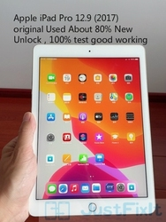 Original Refurbish Apple IPad pro 2017 A1670 12.9 inches Wifi Version Black white About 80% New Unlock