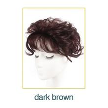 WTB תחרה שיער פאה עור דק טבעי שיער המפלגה טופר הפאה למעלה פאה נשים מתולתל שיער החלפת קליפ סגירת חום