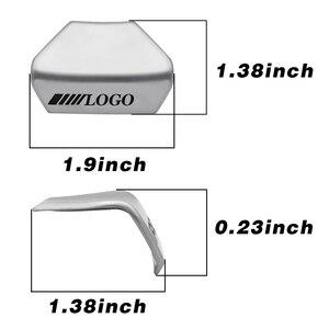 Image 3 - For Mercedes Benz AMG C E Class GLA GLC CLS Car Logo Badge Steering Wheel Upgrade Emblem Decoration Trim Sticker Accessories New