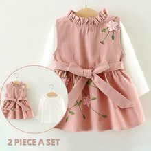 2020 Baby Girls Dress Autumn Long Sleeve Princess D
