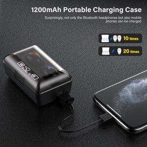 Image 4 - DACOM T8 Bluetooth TWS Tai Nghe Nhét Tai Không Dây Với Microphon, Chuyển Đổi Bài Hát, Đèn Sạc LED Màn Hình Dành Cho iPhone Samsung