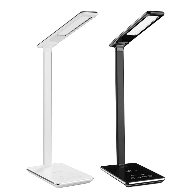 New Multi function LED Table Lamp Foldable 4 Color Temperature Book Light Mobile Phone Wireless Smart