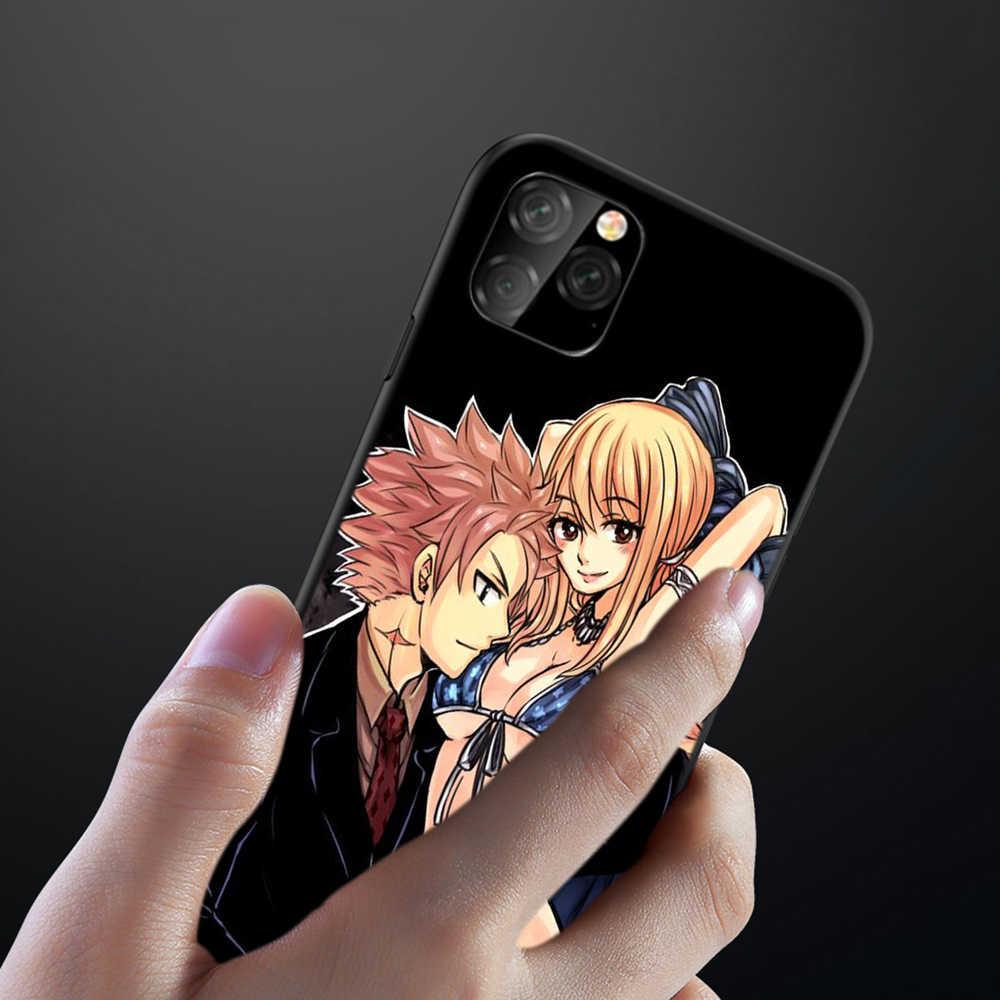 Lavaza Anime Manga Cánh Tiên Mềm TPU Cho iPhone 8 7 6 6S Plus 5 5S SE X XS 11 Pro Max XR Coque Vỏ Trường Hợp