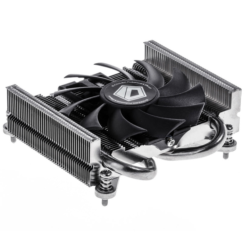 ID-Cooling Is25i Dual Heat Pipe ITX Radiator Ultra-Thin 27 Size Small Chassis S85 Blade Pressurizing-down Style