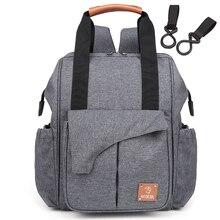 Mama pannolino del sacchetto di maternità impermeabile del bambino borse per la mamma mamma zaino di viaggi passeggino sacchetto del pannolino del sacchetto modifica madre di cura di grandi dimensioni
