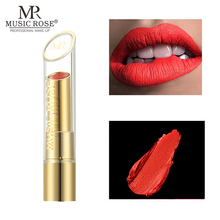 MUSIC ROSE Matte Lipstick Long lasting Shimmer Nude Waterproof Liquid Highly Pigmented Professional Lip Luxury Makeup