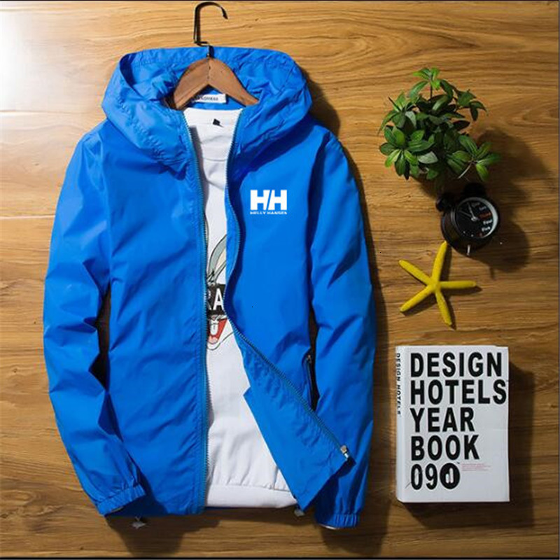 2019HH Men's And Women's Jackets, Helly Senjackets, Hooded Jackets, Fishing Jackets Outside, M-7xl Size