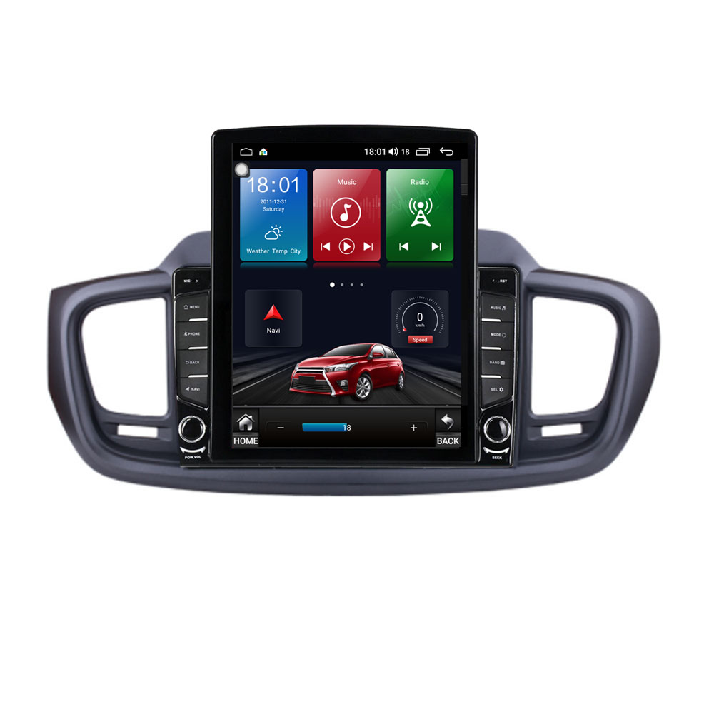 9.7 Android 10.1 For KIA Sorento 2015- 2017 Tesla Type Car Radio Multimedia Video Player Navigation GPS RDS no dvd image
