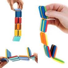 2021 New Flipo Flip Colorful Flap Wooden Ladder Change Visual Illusion Novelty Decompression Children