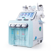 6in1 Hydro Dermabrasion Water Oxygen Jet Skin Dermabrasion Cleaning Hydra Facial Water Peeling Device Second Generation