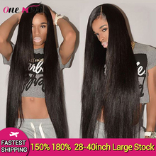 Long Straight Lace Front Wig 28 30 32 34 36 38 40 Inches Lace Front Hum