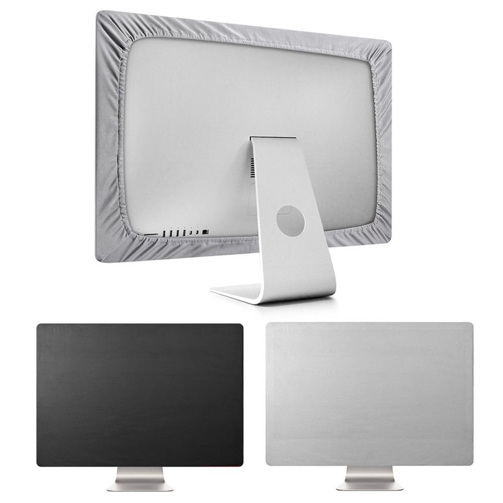 Housse de protection Flexible en Polyester anti-poussière pour écran d'ordinateur 21 27 pouces Apple iMac Macbook Pro Air Samsung HP Dell Lenovo
