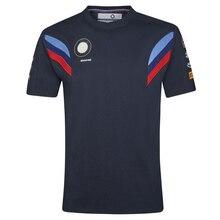 Новинка, быстросохнущая футболка для Мотоцикла BMW, мотокросса, спорта, с коротким рукавом, Мужская