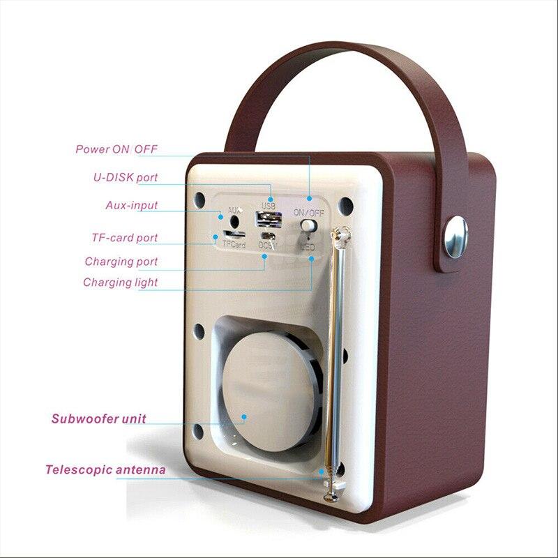 Новый горячий Деревянный цифровой Bluetooth DAB/DAB + FM радио MP3 плеер беспроводной динамик стерео радио - 2