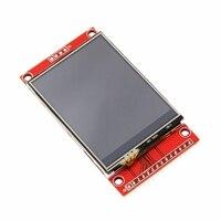 Tüketici Elektroniği'ten Görüntüleme Ekranı'de 2.4 inç 320x240 SPI seri TFT LCD modül ekran ekran basın paneli sürücü IC ILI9341 MCU sıcak