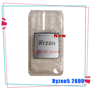 New AMD Ryzen 5 2600 R5 2600 3.4 GHz Six-Core Twelve-Thread CPU Processor YD2600BBM6IAF Socket AM4