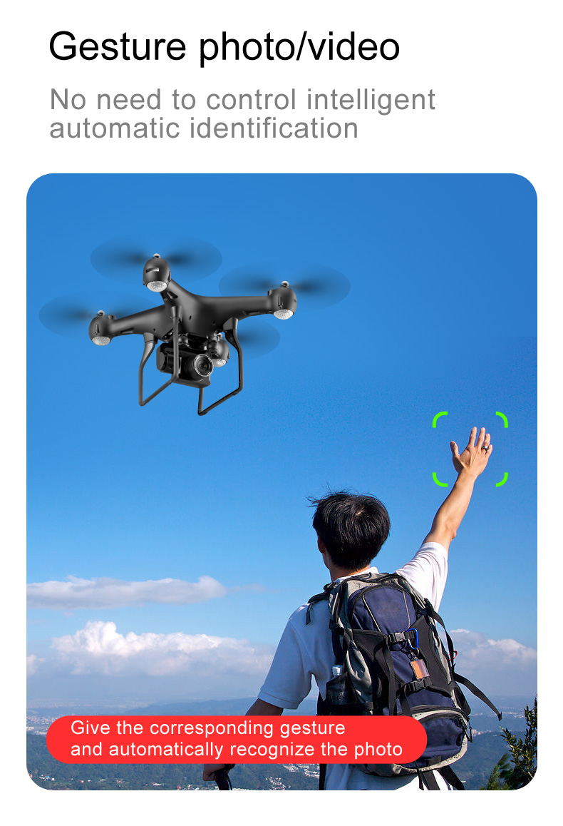 S32T Drone Gesture Photo Video