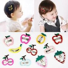 Lovely Children's Hairgrips Cute Kids Fruit Hair Clips Hair