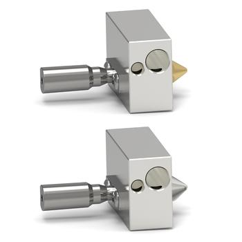 Części do drukarek 3D zestaw do wytłaczania dysz 0 4mm do drukarek 3D Zortrax M200 z aluminiowym blokiem grzewczym drukarka 3d Accessorie tanie i dobre opinie tmddotda CN (pochodzenie) Dysza