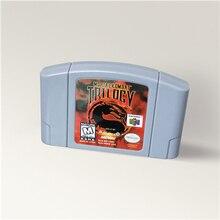 Mortal Kombat trylogii dla 64 Bit kartridż z grą USA wersja NTSC Format