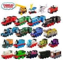 45 estilos thomas e amigo strackmaster 1:43, modelo de trem, crianças, brinquedos para crianças, presente de aniversário, educação